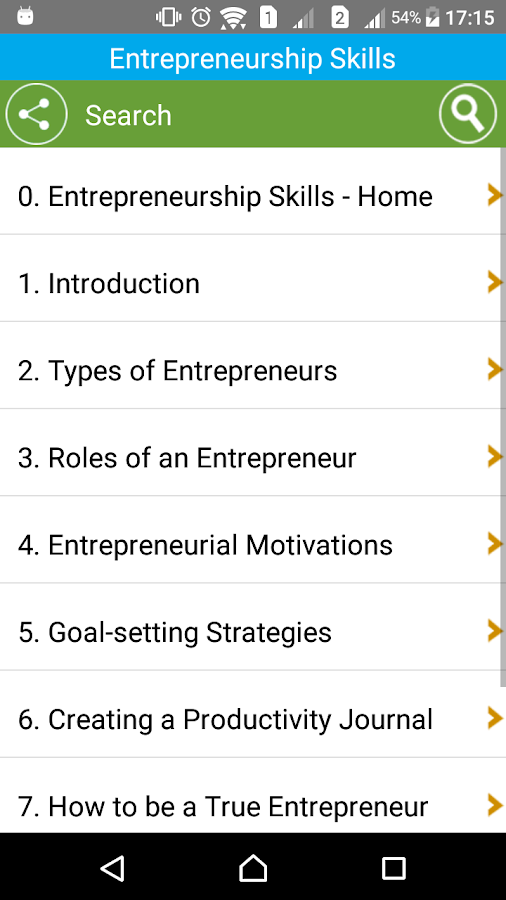 Learn Entrepreneurship Skills- screenshot