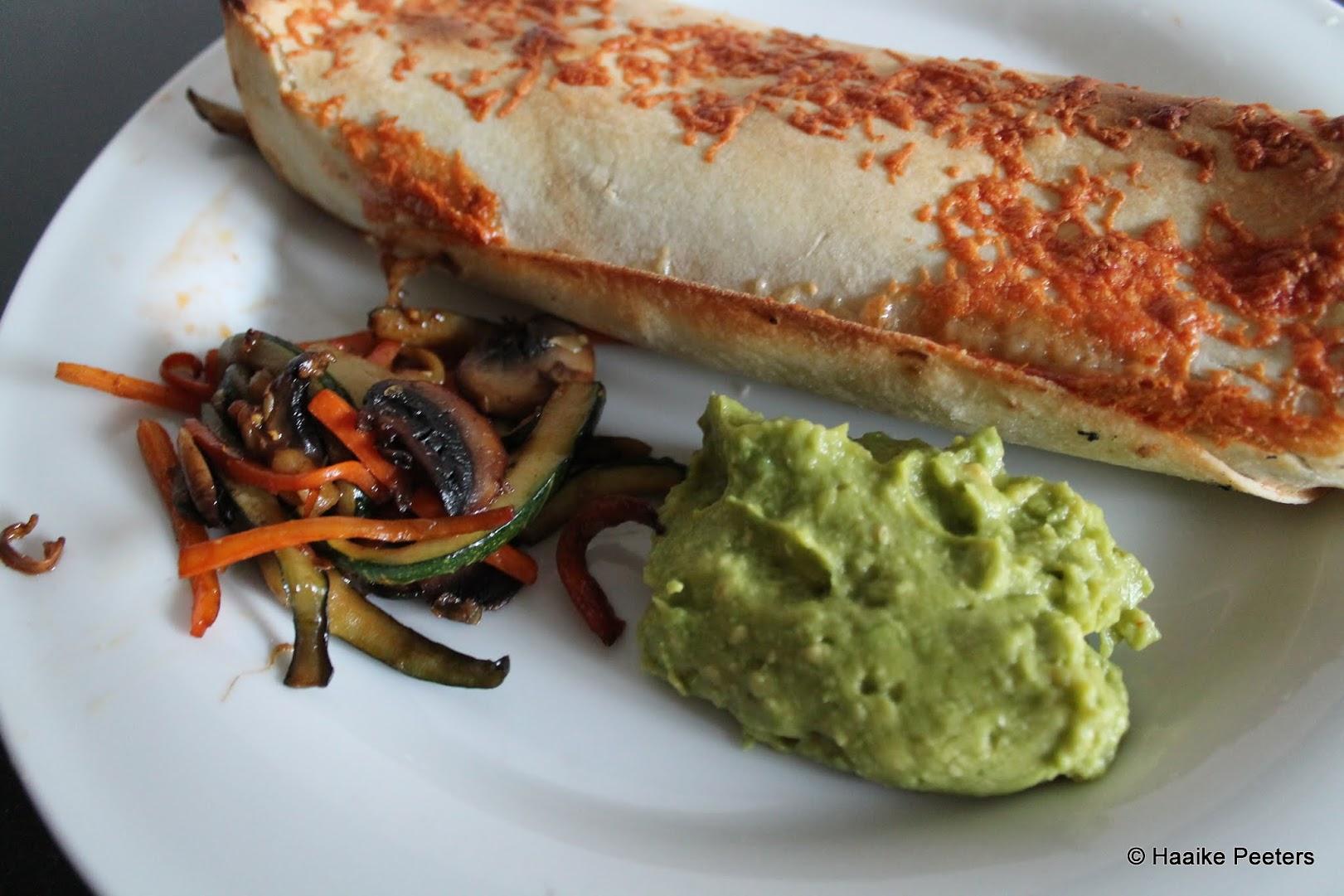 Vegetarische enchilada's met guacamole (Dagelijkse kost)