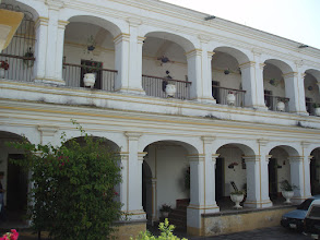 Photo: We visited a convent that had once been a colonial palace.