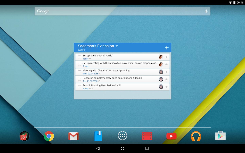 Wunderlist: To-Do List & Tasks - screenshot