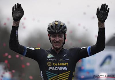 Victoire belge sur le cyclo-cross des raisins