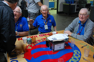 """Photo: """"The Sages"""" - sat with us most of the week; all over 80 yrs old; 200+ years of Scouting among the three of them"""
