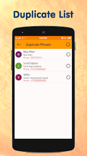 Duplicate Contacts Optimizer and Contact Manager - náhled