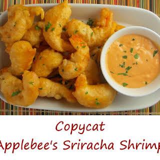 Copycat Applebee's Sriracha Shrimp.