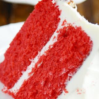 Cake Man Raven's Red Velvet Cake.