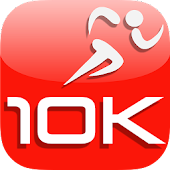 10K Run - Couch to 10K Race GPS Coach & Log
