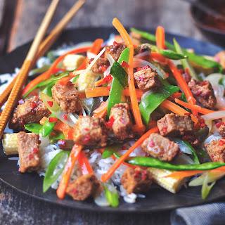 Quorn Vegan Pieces Szechuan Stir Fry Recipe