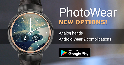 Photo Wear Android Watch Face 4.1.30 screenshots 1