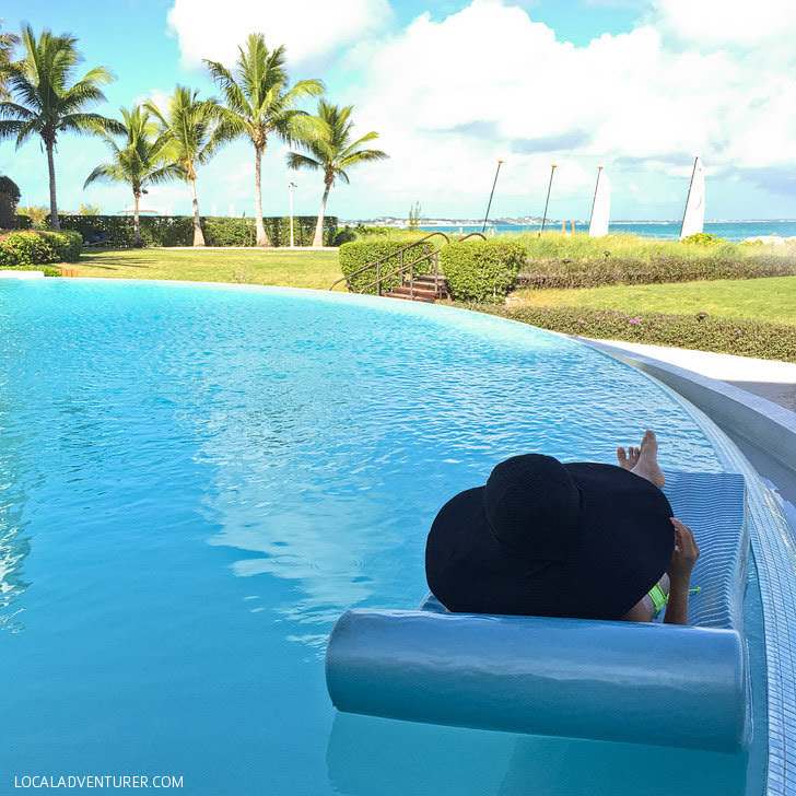 Infinity Pool at the Somerset Turks and Caicos.