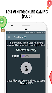 VPN : Shuttle VPN, Free VPN, Unlimited Turbo VPN Screenshot