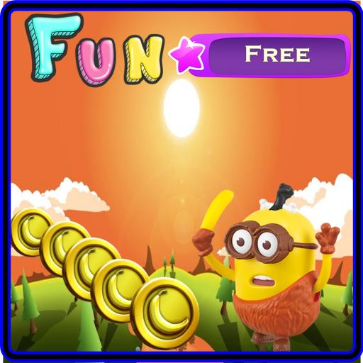 Banana Minion Jump Rush