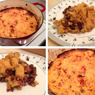 """Adzuki Bean and Sweet Potato Vegan """"Shepherd's Pie"""""""