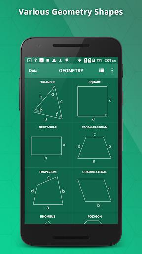 GeometrySoln : Geometry Calculation Solver 1.9 screenshots 1