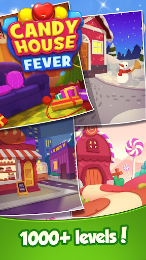 Candy House Fever - 2020 free match game 1.0.5 screenshots 5