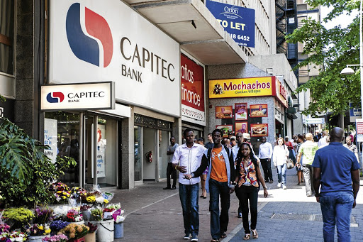Capitec: Its branches have proved an ideal distribution channel for funeral policies Sunday Times/Waldo Swiegers