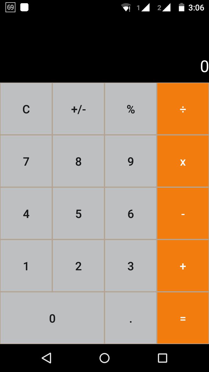Скриншот Notify Scientific Calculator