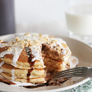 S'mores Pancakes.