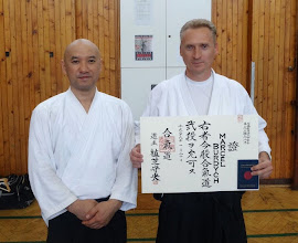 Photo: 2nd Dan in Aikido Aikikai Marcel Burdych - Aikido instructor in Rakovnik dojo (Czech Republic) http://aikidorakovnik.cz/ Member of Yufukan Japan Foundation (YJF) http://www.yufukan.com/