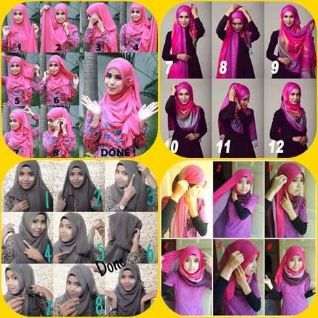 Hijab Style Step By Step