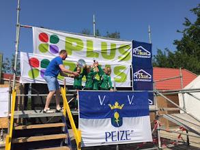 Photo: MP1 heeft zaterdag 4 juni de 1e prijs gewonnen  op het toernooi in Peize.