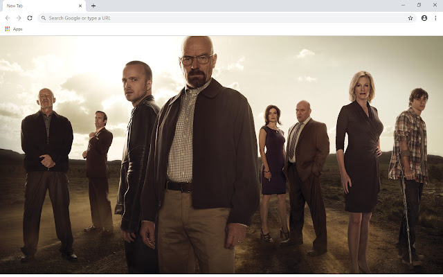 Breaking Bad New Tab & Wallpapers Collection
