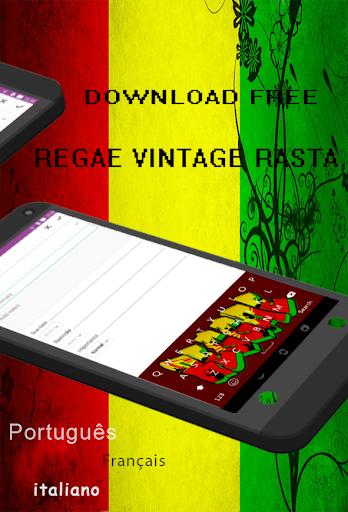 Reggae Vintage Raste Keyboard|玩個人化App免費|玩APPs