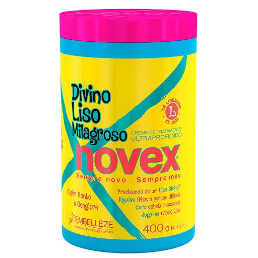 Bano De Crema Novex Divino Liso 400Gr Divino Liso