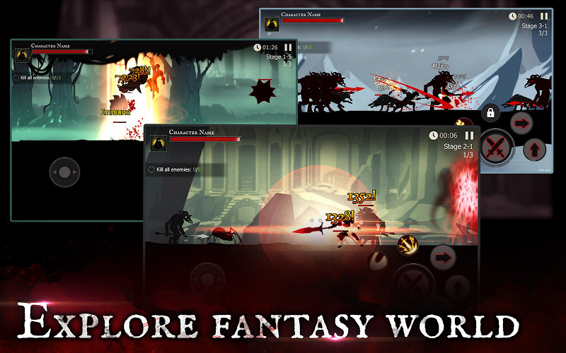 Shadow of Death: Dark Knight - Stickman Fighting Screenshot 11