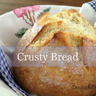 Crusty Bread.