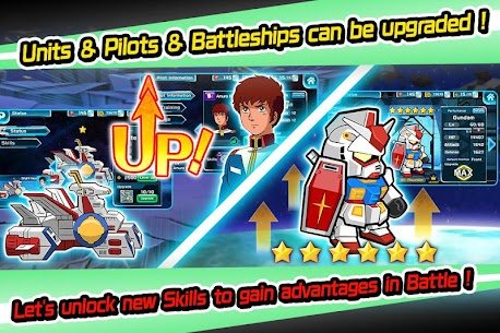 LINE: GUNDAM WARS Mod Apk Download For Android and Iphone 4