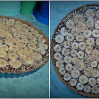 Apang's Chocolate Banana Tart