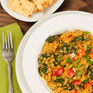 Curried Lentil, Quinoa and Vegetable Stew