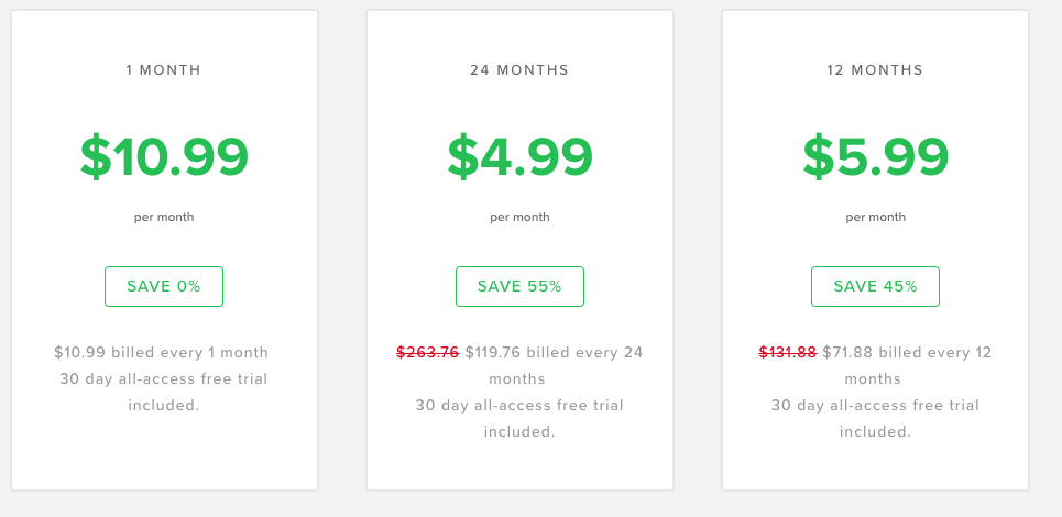VirtualShield pricing and plans