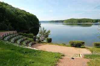 Photo: Théâtre de verdure (Lac de Saint Etienne Cantalès 600 ha)