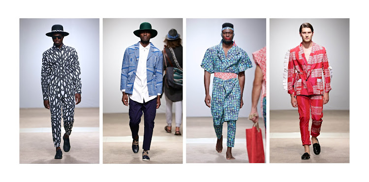 Good Good Good, ALC, Imprint and Maxivive made a statement on the runway with their bold use of prints