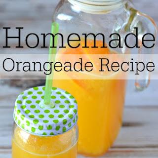 Homemade Orangeade.