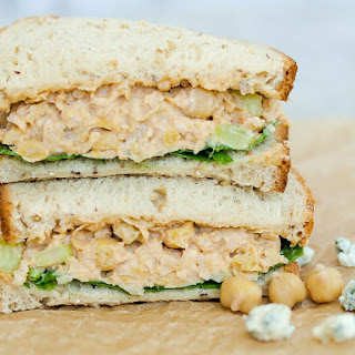 Buffalo Chickpea Salad Sandwich Recipe