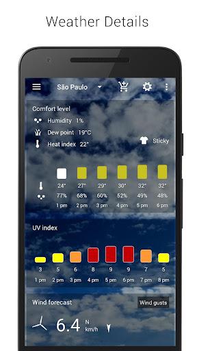 3D Sense Clock & Weather 5.00.05 gameplay | AndroidFC 4