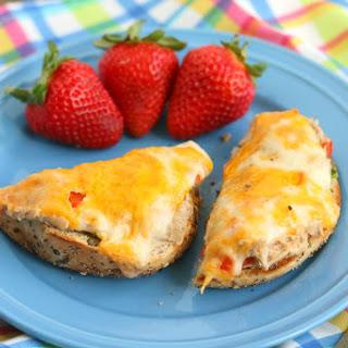 Easy Roasted Cheesy Tuna Melts.