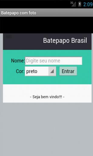 Bate-papo chat Brasil