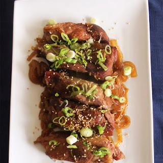 Honey-Sesame Slow Cooked Pork Ribs