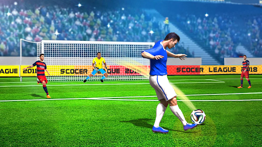 Football League World Ultimate Soccer Strike 1.0 screenshots 1