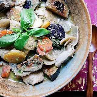 Freezer Friendly Green Curry Chicken