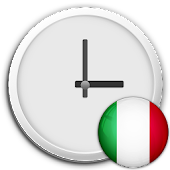 Italy Clock & RSS Widget
