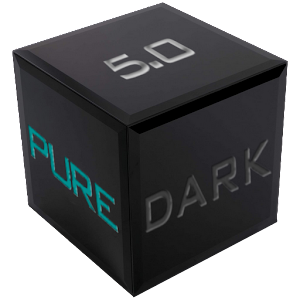 EMUI 9.1Pure Dark 5.0 Theme 2.2 by hanni logo