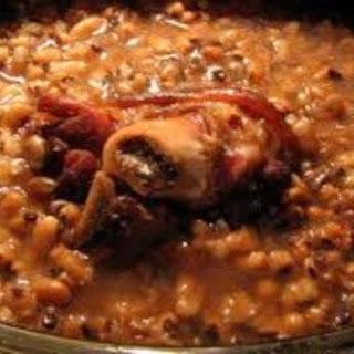 Black-Eyed Peas with Ham Bone or Ham Hock