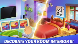 screenshot of Home Interior Design House Mansion Match 3 Blast