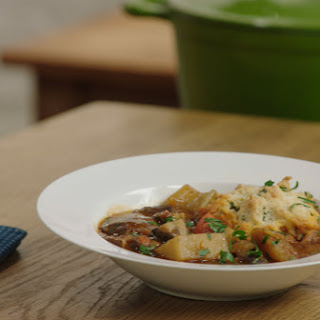 Guinness Stew with Cheddar Dumplings Recipe