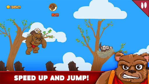 【免費冒險App】Angry Bear VS Eagles-APP點子