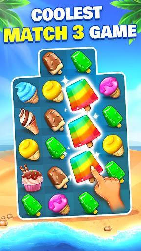 Ice Cream Paradise - Match 3 Puzzle Adventure  screenshots 1